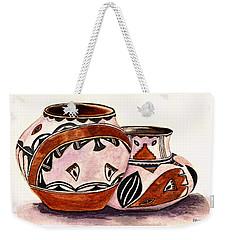Native American Pottery Weekender Tote Bag