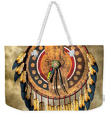 Native American Shield Weekender Tote Bag