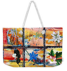 native Texas wildflowers B Weekender Tote Bag