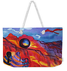 Native Women At Window Rock Weekender Tote Bag