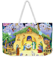 Nativity For Children Weekender Tote Bag