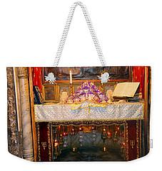 Nativity Grotto Weekender Tote Bag