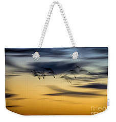 Natural Abstract Art Weekender Tote Bag