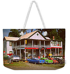 Weekender Tote Bag featuring the photograph Natural Bridge Station by Victor Montgomery