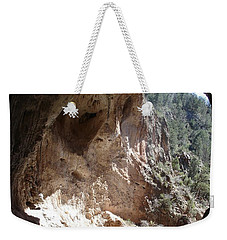 Natural Bridge View Weekender Tote Bag