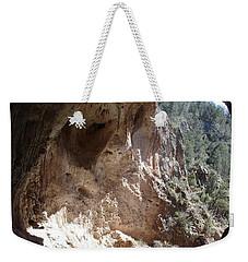 Weekender Tote Bag featuring the photograph Natural Bridge View by Kerri Mortenson