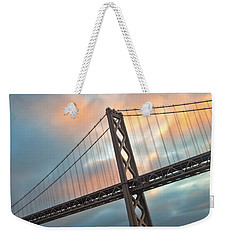 Natural Firework Weekender Tote Bag by Jonathan Nguyen
