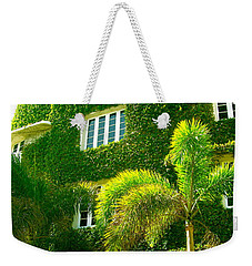 Natural Ivy House Weekender Tote Bag