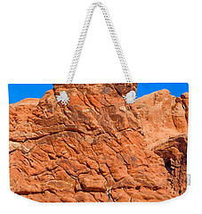 Weekender Tote Bag featuring the photograph Natural Sculpture by John M Bailey