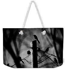 Weekender Tote Bag featuring the photograph Nature In The Slums by Jessica Shelton