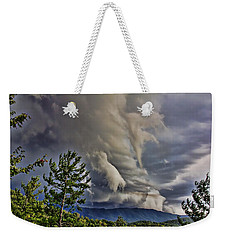Nature Showing Off Weekender Tote Bag