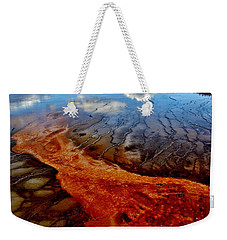 Weekender Tote Bag featuring the photograph Natureprint by Benjamin Yeager