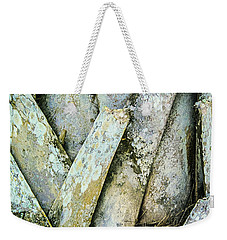 Weekender Tote Bag featuring the photograph Natures Abstract by Julie Palencia