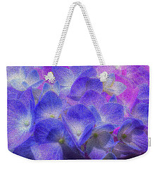 Weekender Tote Bag featuring the photograph Nature's Art by Paul Wear