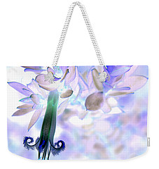 Weekender Tote Bag featuring the photograph Nature's Bell by Miroslava Jurcik