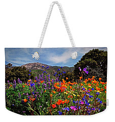 Weekender Tote Bag featuring the photograph Nature's Bouquet  by Lynn Bauer
