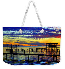 Nature's Disco Dance Weekender Tote Bag by Faith Williams