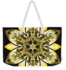 Nature's Mandala 57 Weekender Tote Bag