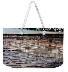 Weekender Tote Bag featuring the photograph Nature's Mosaic II by Sharon Elliott