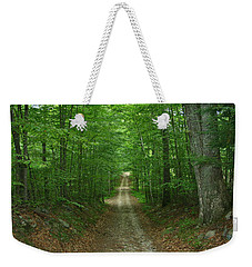 Nature's Way At James L. Goodwin State Forest  Weekender Tote Bag by Neal Eslinger