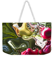 Weekender Tote Bag featuring the painting Naturescape by Richard Thomas