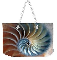 Nautilus Impression Weekender Tote Bag by Phil Cardamone