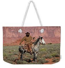 Navajo Cowboy Weekender Tote Bag