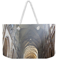 Nave Of The Cathedral Weekender Tote Bag