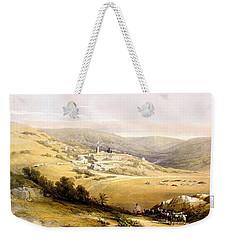 Nazareth Weekender Tote Bag by Munir Alawi