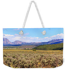 Near Chama New Mexico Weekender Tote Bag