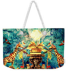 Near Reflections Weekender Tote Bag
