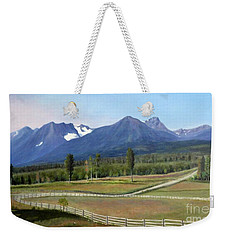 Near Smithers Bc Weekender Tote Bag