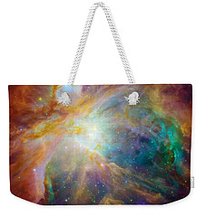 Chaos At The Heart Of Orion Weekender Tote Bag by Nasa