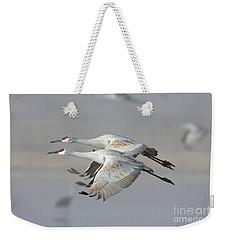 Neck N Neck Weekender Tote Bag