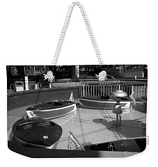 Weekender Tote Bag featuring the photograph Needs Water Skis  by Michael Krek