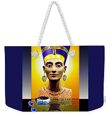 Nefertiti  The  Beautiful Weekender Tote Bag