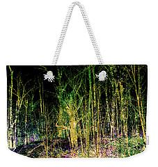Negative Forest Weekender Tote Bag