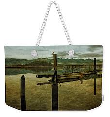 Nehalem Bay Reflections Weekender Tote Bag