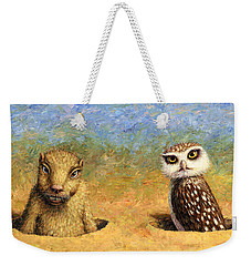 Neighbors Weekender Tote Bag by James W Johnson