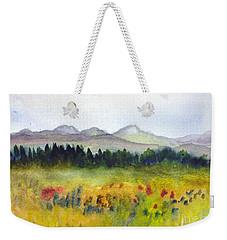 Nek Mountains And Meadows Weekender Tote Bag