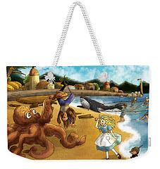 Nellie The Octopus Weekender Tote Bag