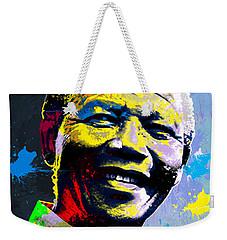 Nelson Mandela Madiba Weekender Tote Bag by Anthony Mwangi