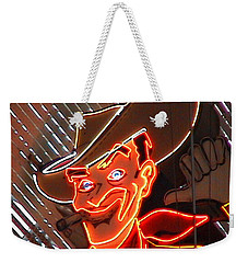 Neon Cowboy Of  Las Vegas Weekender Tote Bag