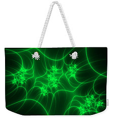 Neon Fantasy Weekender Tote Bag by Gabiw Art