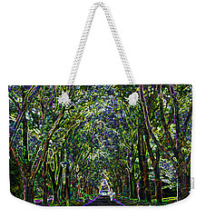 Neon Forest Weekender Tote Bag by Tine Nordbred