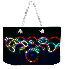 Neon Pool Balls Weekender Tote Bag