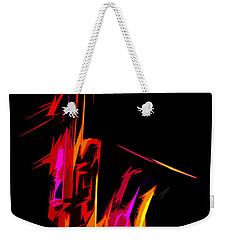 Neon Sax Weekender Tote Bag
