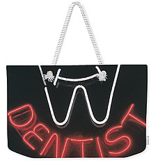 Neon Smile Weekender Tote Bag by Caitlyn  Grasso