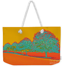 Neon Trees In The Fall Weekender Tote Bag