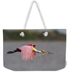 Nest Material Weekender Tote Bag by Doug Lloyd